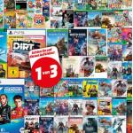 "Media Markt – ""Nimm 3 zahl 2"" Games (PS5, PS4, Nintendo Switch, Xbox)"