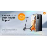 Xiaomi 11T Pro 128 GB + Xiaomi Mi Scooter um 799 € statt 950,35 €