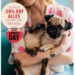 zooplus Woman Day – 20% Rabatt auf das gesamte Sortiment