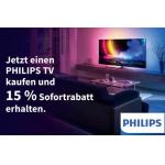 Media Markt – 15% Rabatt auf Philips TVs (bis 30.10.)
