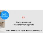 tink Nationalfeiertag – 26€ Rabatt ab 200€ (ausgewählte Produkte)