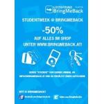 Studentenwoche: -50% auf Alles für Studenten!