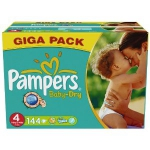 Pampers Baby Dry Windeln 144 Stück Gigapack für 28.97€ @Amazon Sparabo