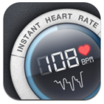 Instant Heart Rate für iPhone, Android kostenlos @iTunes / Google Play
