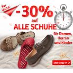 -30% auf Schuhe @ Universal Versand