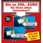 Bis zu 200€ für Deinen alten Fernseher @ Media Markt