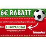 nur heute von 17:00-22:00: 6€ Rabatt bei einer 10€ Bestellung @Lieferando.at
