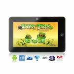 QYMID-702 Android 3,0 7″ Tablet PC mit Wifi, 3G und 3D-Spiele um 137,76€
