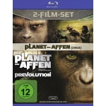 Planet der Affen/Planet der Affen: Prevolution auf Blu-ray um 12,99€