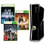 WAHNSINN: Xbox360 250GB + 2 Controller + 7 Spiele für nur 309€ @Amazon