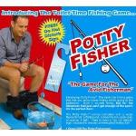 Klo Potty Fisher, grau / blau um 17,97€ @ Amazon