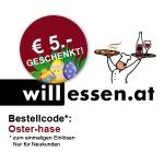5€ Gutschein @ will-essen & MJAM