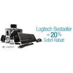 2 Logitech Produkte kaufen, 20% Rabatt @Amazon