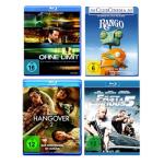 4 Blu-rays (z.B. Fighter, Rango, Hangover 1+2, Fast Five, Ohne Limit u.s.w) für 30€