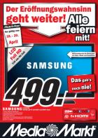 MediaMarkt Vösendorf (SCS) Eröffnungsangebote vom 18.4 – 20.4. (betrifft alle Märkte in ganz Ö)