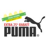 25% auf alle Puma Artikel und zusätzlich 20% Rabatt auf das gesamte Sortiment