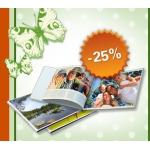 Fotobuch 20×30 – 25 Prozent günstiger