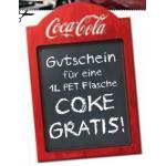 1L Coca-Cola oder Coca-Cola light kostenlos bei Unimarkt