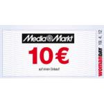 10€ Media Markt Gutschein mit 10€ Mindesteinkaufswert am Woman Day 2012