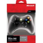 PC – Xbox 360 Wireless Controller für Windows, schwarz für 33€