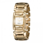 Esprit Damen-Armbanduhr Bright Epoque Gold um 40,90€