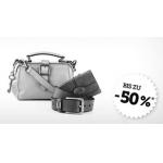 ab 9:00: bis zu -50% auf Fossil Taschen & Accessoires