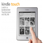 Kindle Touch ab sofort um 129€ bei Amazon.de verfügbar