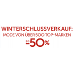 Winterschlussverkauf von vielen Top Marken (Tom Tailor, G-Star, Vero Moda, Only u.v.m.)