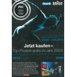 Oral-B oder Braun Produkt jetzt kaufen und Top Produkt gratis im Jahr 2020 bei Media Markt
