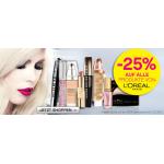 -25% auf L'Oreal Produkte @ BIPA