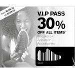Footlocker VIP Pass: -30% auf das gesamte Sortiment von 10.5. – 13.5.2012