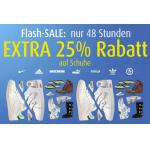 -25% Rabatt auf Schuhe + 20€ Rabatt ab 50€ Einkaufswert bei MandMDirect