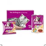 Gratis Whiskas Katzenbabybox bestellen