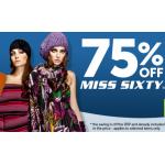 -75% auf Miss Sixty Kleidung inkl. Versand bei play.com