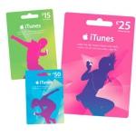 iTunes Karten – 15 %