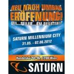 """Saturn Milleniumcity feiert vom 31.5. – 2.6. """"Wiedereröffnung"""""""