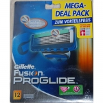 12 Gillette Fusion ProGlide Klingen um 30,82€ @ BIPA