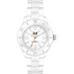 Ice-Watch Unisex Armbanduhr Medium Big Classic Solid Weiss um 45€