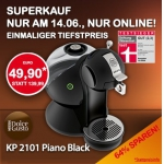 Dolce Gusto KP 2101 Piano Black um 49,90€