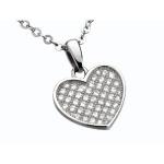 Glamour World Damen-Collier Sterling-Silber für nur 25 Euro bei Amazon
