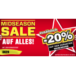 City Outlet Midseason Sale: -20% auf ALLES!
