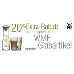 -20% Rabatt auf aufgewählte WMF Produkte u.a. Wasserkaraffe 24,80€