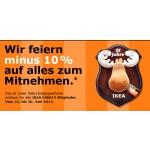 -10% auf alles zum mitnehmen als IKEA Familymitglied