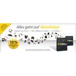 Auf fast alles -10% bei MeinPaket Deutschland