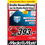Media Markt Steyr Eröffnungsangebote ab 28.6.2012 (heute)