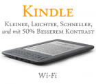 Amazon Kindle Promotion 139€ Wifi sowie 189€ Wifi+3G @Amazon
