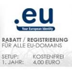 Sonderaktion: .eu Domain für 0,50 EUR im ersten Jahr!!!