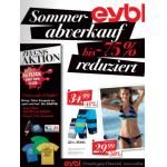 T-Shirt, Eis und 10€ Gutschein kostenlos mit 5 1ern oder einem 5er bei eybl