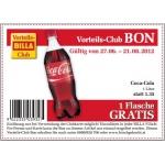 1 Liter Coca Cola Gratis @Billa