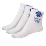 nur heute: -50% auf alle Olympia Fanartikel (z.B. 3 Paar Socken um 4,49€)